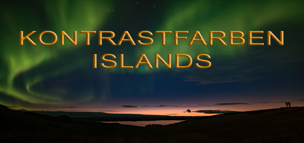 Kontrastfarben Islands